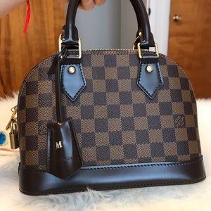 Louis Vuitton Bags - Louis Vuitton Alma BB Damier Ebene Used